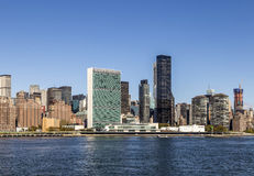 Manhattan midtown buildings, New York Royalty Free Stock Photography