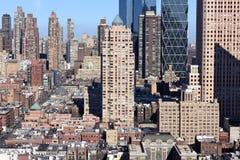 Manhattan-Midtown-Eindrucks-Landschaft stockbilder