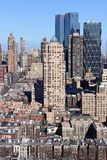 Manhattan Midtown Impressions Portrait Royalty Free Stock Photography