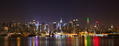 Free Manhattan Midtown Panorama Royalty Free Stock Photo - 23151225