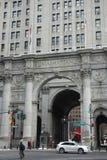 Manhattan Miejski budynek Obrazy Stock