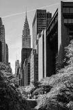 Manhattan modern architecture Royalty Free Stock Image