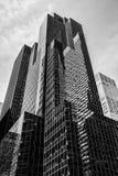 Manhattan modern architecture Stock Images
