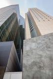 Manhattan modern architecture Royalty Free Stock Photo