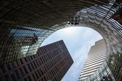 Manhattan modern architecture Stock Image