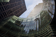 Manhattan modern architecture Royalty Free Stock Photos