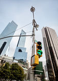 Manhattan modern architecture Stock Photography