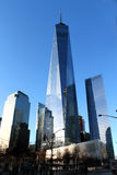 Manhattan moderna skyskrapor New York Freedom Tower Royaltyfri Foto