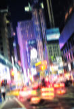 Manhattan - motion blurred Royalty Free Stock Image