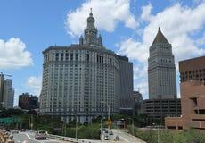 Manhattan Municipal Building in Lower Manhattan Stock Image