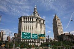 Manhattan Municipal Building, New York Royalty Free Stock Images
