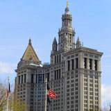 Manhattan Municipal Building - New York Building Stock Images