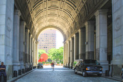 Manhattan Municipal Building, New York City Stock Image