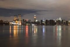 Manhattan na Stroomuitval Stock Afbeelding