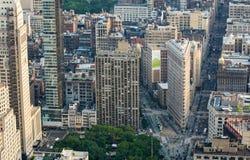 manhattan New York Небоскребы и горизонт города Стоковое Фото