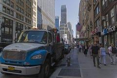 manhattan New York Седьмой бульвар Стоковое фото RF