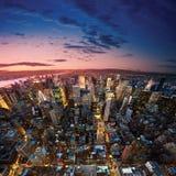 manhattan New York fotografering för bildbyråer
