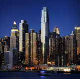 manhattan New York Arkivbilder