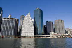 Manhattan, New York. Manhattan. New York City skyline Royalty Free Stock Photos