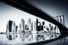 manhattan New York Royaltyfri Foto