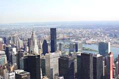 Manhattan New York Royalty Free Stock Photography