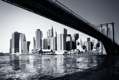 manhattan New York arkivbilder