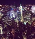 Manhattan, New York Fotografie Stock Libere da Diritti