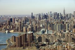 Manhattan, New York City. Royalty Free Stock Images