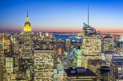 Manhattan in New York city Stock Photography
