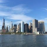 Manhattan, New York City en un día soleado foto de archivo