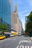 Manhattan New York City Las Amériques 6ème poids du commerce Image stock