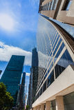Manhattan New York City Las Amériques 6ème poids du commerce Photos stock