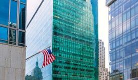Manhattan New York City Las Americas 6o avoirdupois Fotografia de Stock