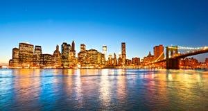 Manhattan, New York City. LOS E.E.U.U. Imagen de archivo