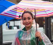 Manhattan, New York City, May 19, 2018 - Annual New York Dance Parade stock photography