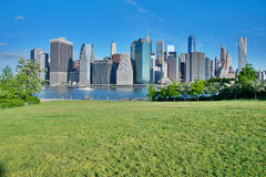 Manhattan New York City Skyline Royalty Free Stock Photography