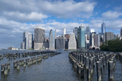 Manhattan New York City Skyline Stock Photography