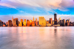 Manhattan, New York City U.S.A. Fotografia Stock Libera da Diritti