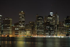 Manhattan. New York City. United states of America Royalty Free Stock Images
