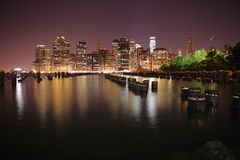 Manhattan. New York City. United states of America Stock Photo