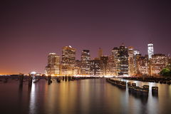 Manhattan. New York City. United states of America Royalty Free Stock Photography
