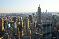 Manhattan, New York City. USA. Lizenzfreie Stockfotos