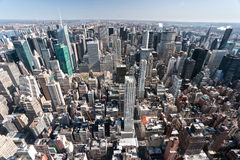 Manhattan, New York City. USA. Royalty Free Stock Photo