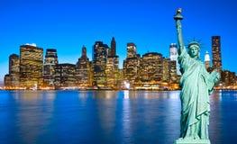 Manhattan, New York City. USA. Royalty Free Stock Photos