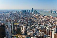Manhattan, New York City. USA. Royalty Free Stock Photography