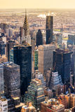 Manhattan, New York City. USA. Royalty Free Stock Image