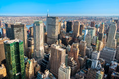 Manhattan, New York City. USA. Royalty Free Stock Images