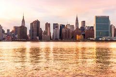Manhattan, New York City. USA. Stock Images
