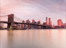 Manhattan, New York City. USA. Royalty Free Stock Images