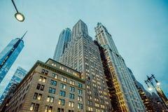 Manhattan, New York City. View of Manhattan, New York City stock photos